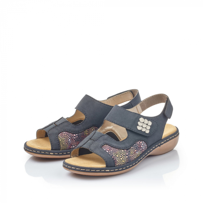 Sandale din piele naturala Rieker 65989-14 [1]