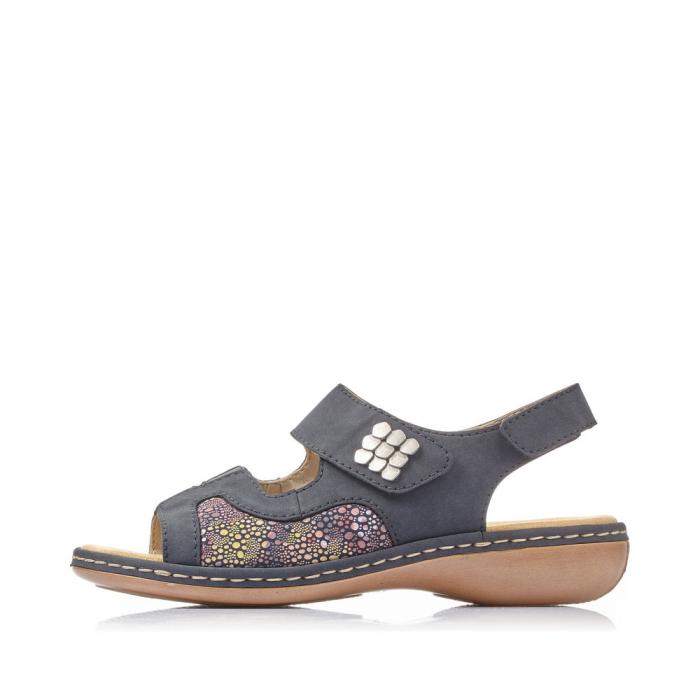 Sandale din piele naturala Rieker 65989-14 [6]