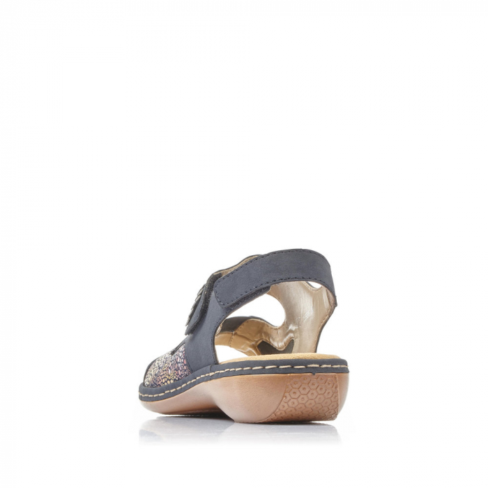 Sandale din piele naturala Rieker 65989-14 [4]