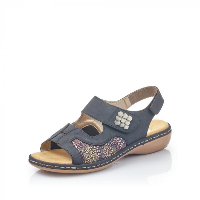 Sandale din piele naturala Rieker 65989-14 [3]