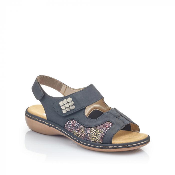 Sandale din piele naturala Rieker 65989-14 [0]