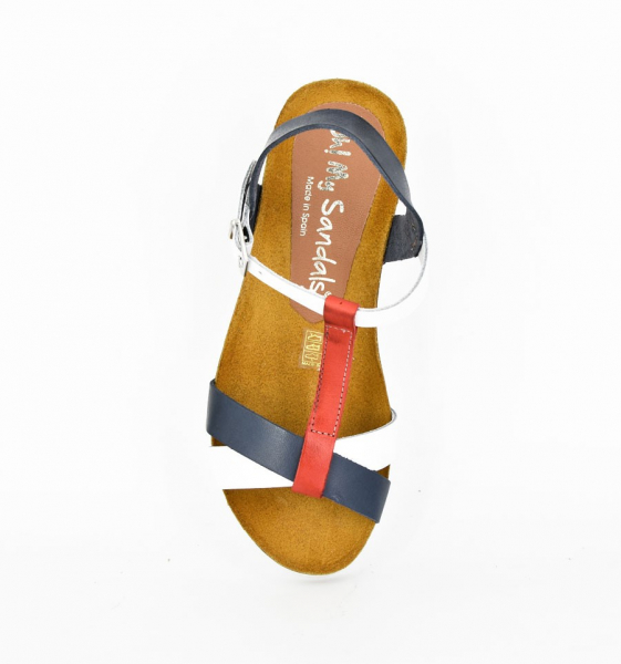 SANDALE Oh My Sandals Navy OMS 4401 1
