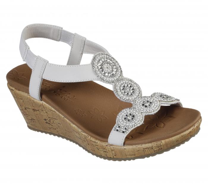 Sandale Skechers BEVERLEE - DATE GLAM 119010-OFF WHITE 0
