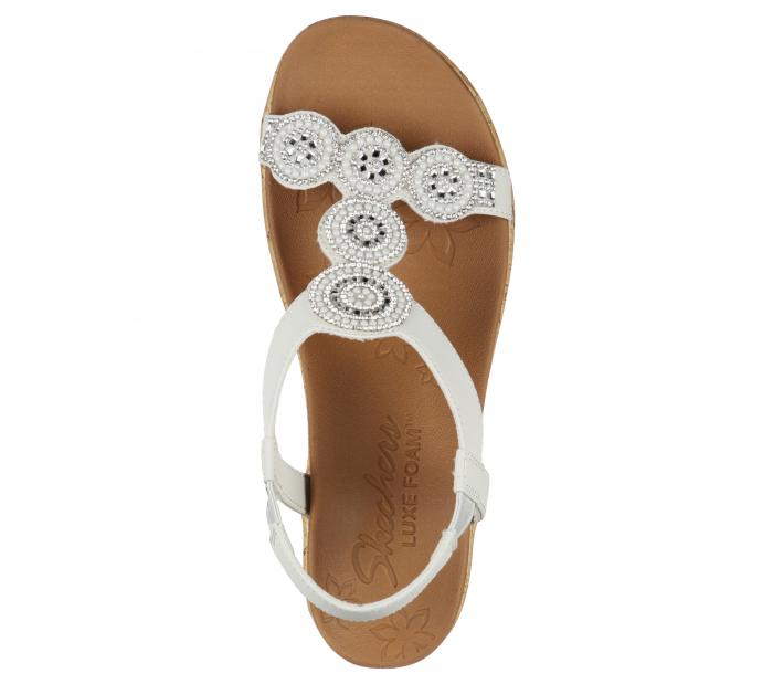 Sandale Skechers BEVERLEE - DATE GLAM 119010-OFF WHITE 1