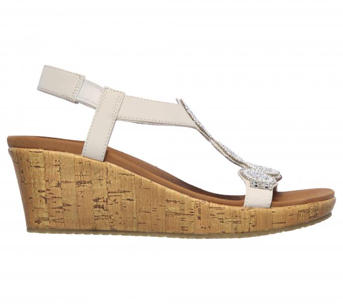 Sandale Skechers BEVERLEE - DATE GLAM 119010-OFF WHITE 4