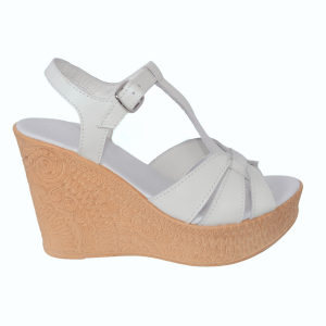 Sandale din piele naturala 204 Alb [1]