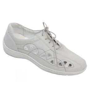 Pantofi din piele Medline Confort 441 Gri0