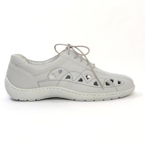 Pantofi din piele Medline Confort 441 Gri1