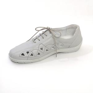 Pantofi din piele Medline Confort 441 Gri2