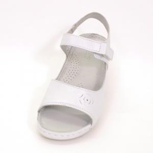 Sandale din piele naturala 257 Alb2