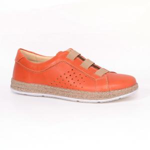 Pantofi casual dama 546 Portocaliu0