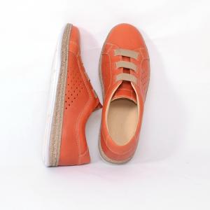 Pantofi casual dama 546 Portocaliu2