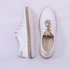 Pantofi casual dama 459 Alb2