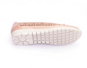 Balerini de piele Relax Nevalis roz5