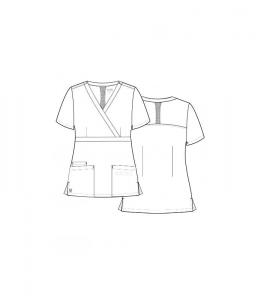 Bluza femei MAEVN Alb2