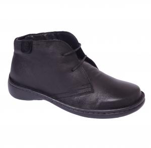 Pantofi piele Medline Confort 478 Negru0