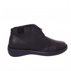 Pantofi piele Medline Confort 478 Negru3