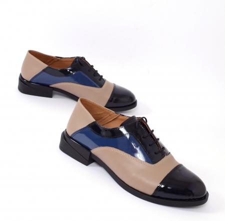 Pantofi casual dama 597 Color Bej [1]