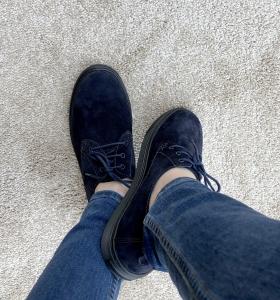Pantofi casual dama 434XB Albastru2