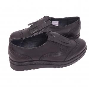 Pantofi casual dama 487 Negru3