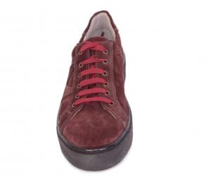Pantofi casual dama 556 Bordo1