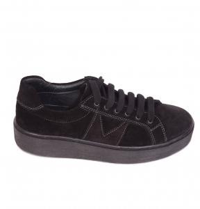 Pantofi casual dama 556 Negru0