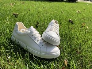 Pantofi Piele Naturala Veya 564 Alb2