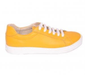 Pantofi Piele Naturala Veya 564 Galben2