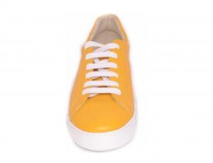 Pantofi Piele Naturala Veya 564 Galben3
