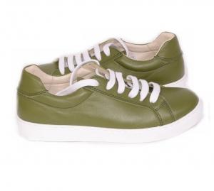 Pantofi Piele Naturala Veya 564 Verde3