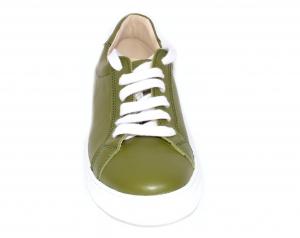 Pantofi Piele Naturala Veya 564 Verde2