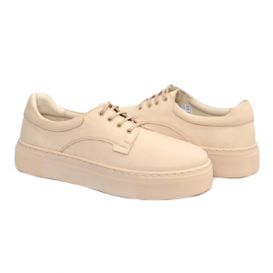 Pantofi casual dama 574 Bej0