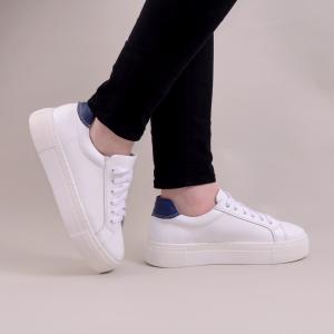 Pantofi casual dama 575 Alb0