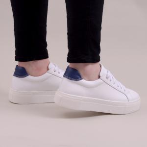 Pantofi casual dama 575 Alb2