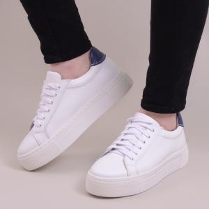 Pantofi casual dama 575 Alb1