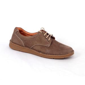 Pantofi casual dama 578 Maro- piele intoarsa0