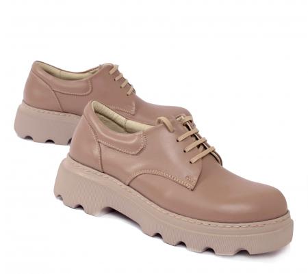 Pantofi casual dama 595 Bej [0]