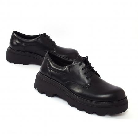 Pantofi casual dama 595 Negru [1]