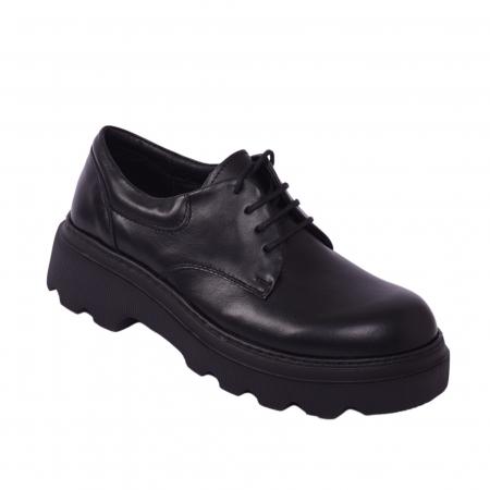 Pantofi casual dama 595 Negru [0]