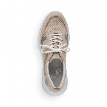 Pantofi sport din piele naturala Rieker 59426-605