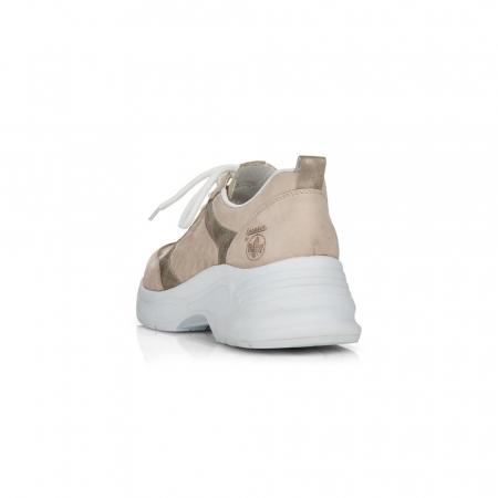 Pantofi sport din piele naturala Rieker 59426-603