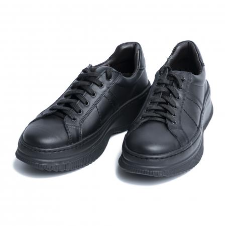 Pantofi casual dama 600 Negru [5]
