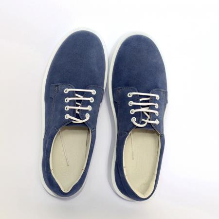 Pantofi casual dama 606 Bleumarin Velur [1]