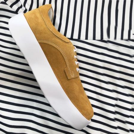 Pantofi casual dama 606 Galben Velur [0]