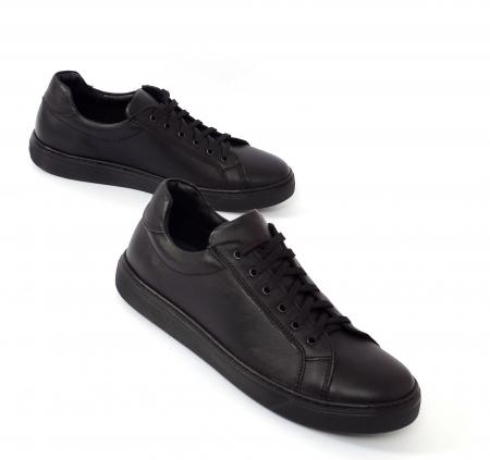 Pantofi casual dama 564 Negru0