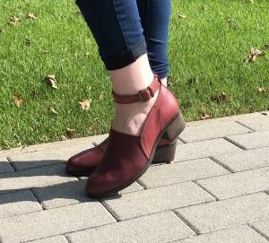 Pantofi confortabili dama 557 Bordo1