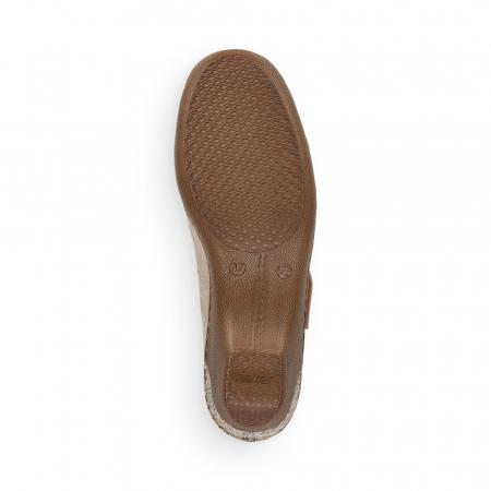Pantofi de piele naturala Rieker 48369-607