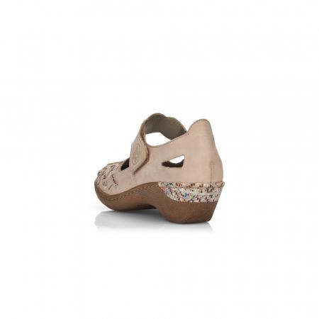 Pantofi de piele naturala Rieker 48369-603