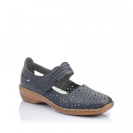 Pantofi de piele naturala Rieker 41399-14 [0]