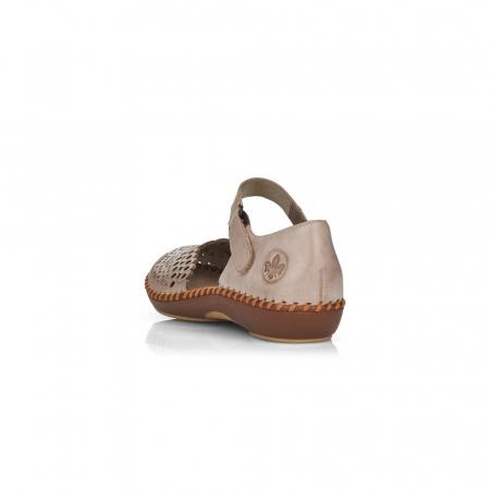 Pantofi de piele naturala Rieker M1656-623